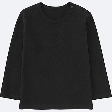 TODDLER Crew Neck Long Sleeve T-Shirt