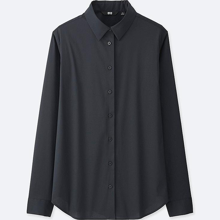 DAMEN Supima Cotton Bluse Stretch