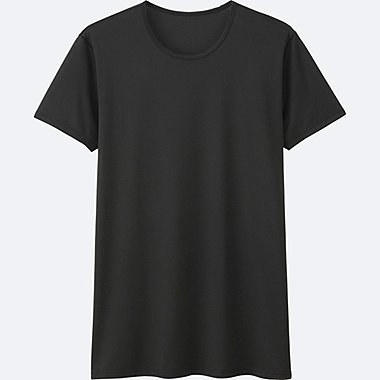 MEN AIRism Mesh Crew Neck Short Sleeve T-Shirt