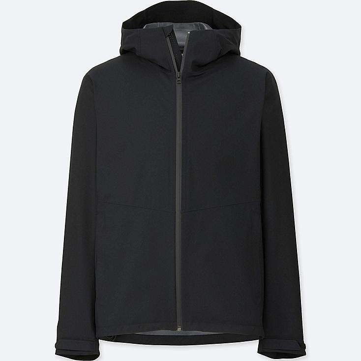 Men Blocktech Hooded Rain Jacket | UNIQLO UK