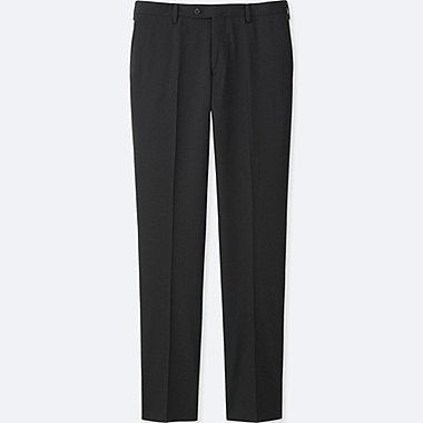 Pantalon En Laine Stretch HOMME