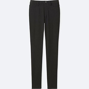 WOMEN LEGGINGS PANTS, BLACK, medium