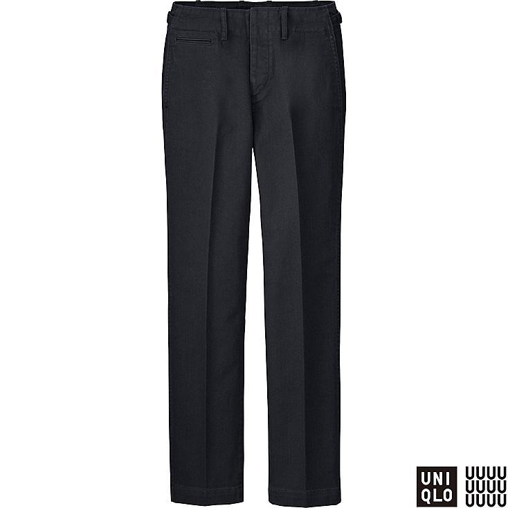 U Pantalon chino en coton Femme
