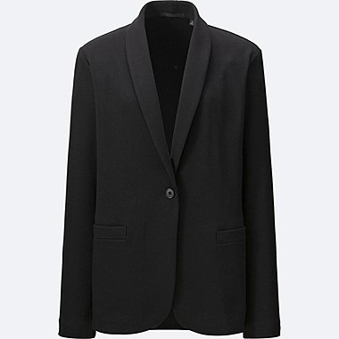 WOMEN Soft Jersey Jacket