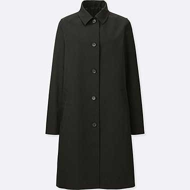 WOMEN Single Breasted Rain Coat