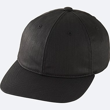 MEN BASEBALL CAP, BLACK, medium