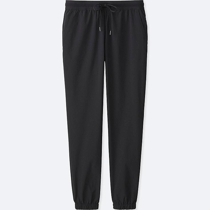 WOMEN DRY STRETCH JOGGER PANTS, BLACK, large