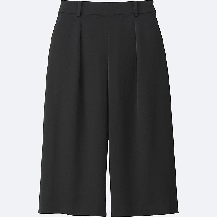 WOMEN Easy Care Drape Culottes Trousers