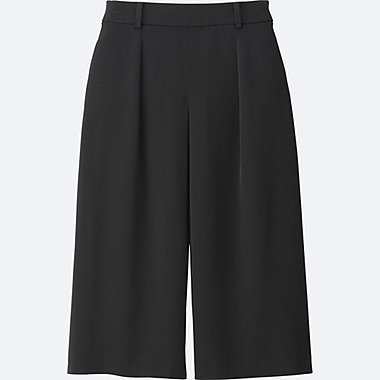 WOMEN Drape Gaucho Trousers