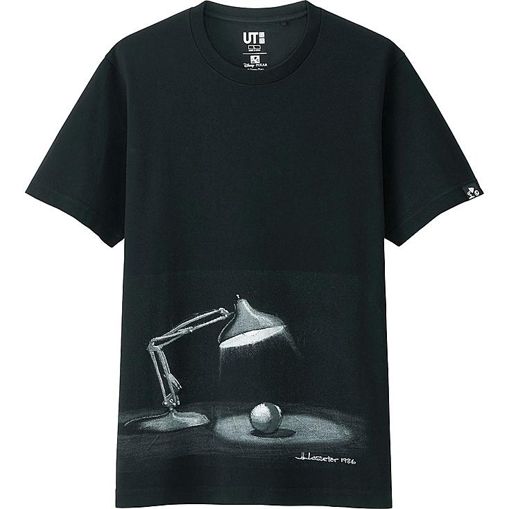 PIXAR COLLECTION SHORT SLEEVE GRAPHIC T-SHIRT, BLACK, large