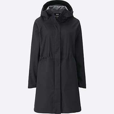 WOMEN BLOCKTECH COAT, BLACK, medium