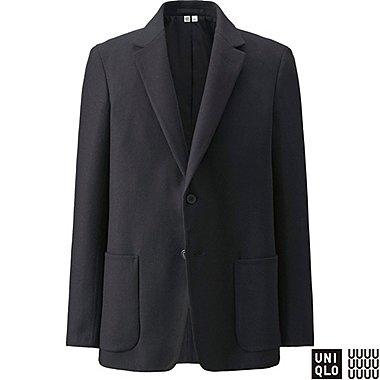 Herren U Doppelseitige Jacke aus Wollgemisch