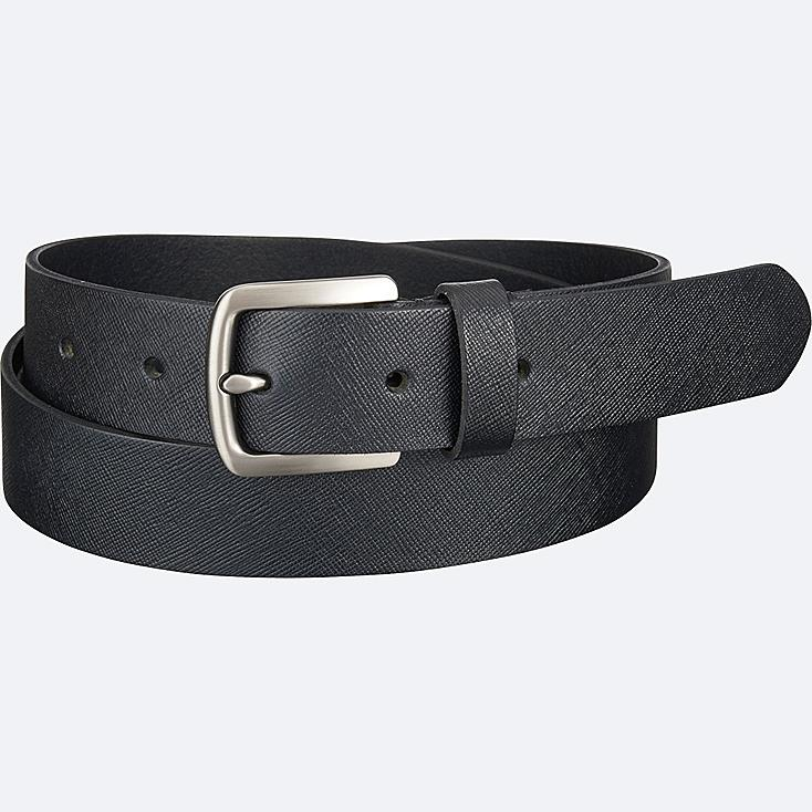 MEN Italian Leather Emboss Belt