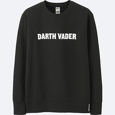 MEN STAR WARS GRAPHIC SWEATSHIRT, BLACK, medium