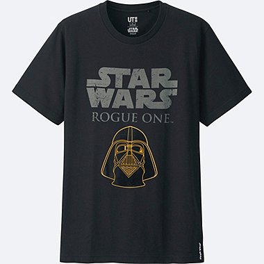 MEN STAR WARS SHORT SLEEVE GRAPHIC T-SHIRT, BLACK, medium