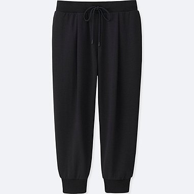 WOMEN AIRism Stretch Cropped Trousers