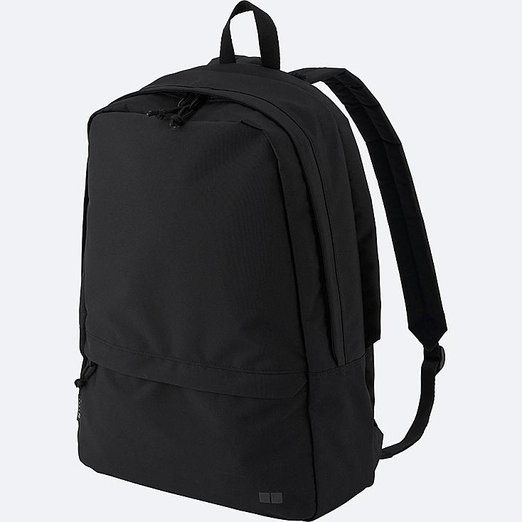 MEN BACKPACK, BLACK, large