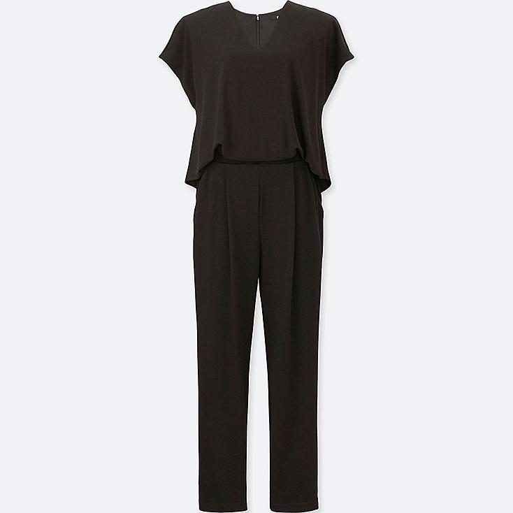 WOMEN Jersey Short Sleeve Jumpsuit