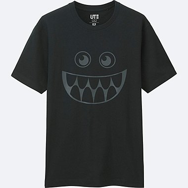 MEN Disney/PIXAR Collection GRAPHIC T-SHIRT, BLACK, medium