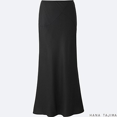 WOMEN Hana Tajima Tencel Flare Long Skirt