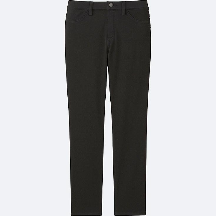 Lastest Uniqlo Stretch Cropped Pants In Black | Lyst