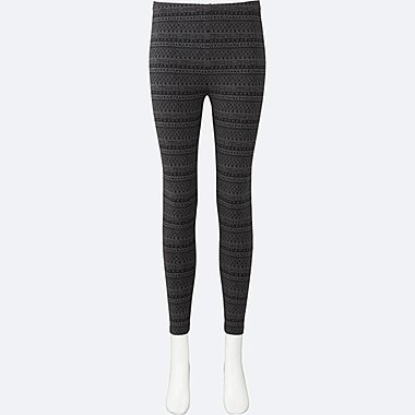 DAMEN Leggings Stretch Jersey Material