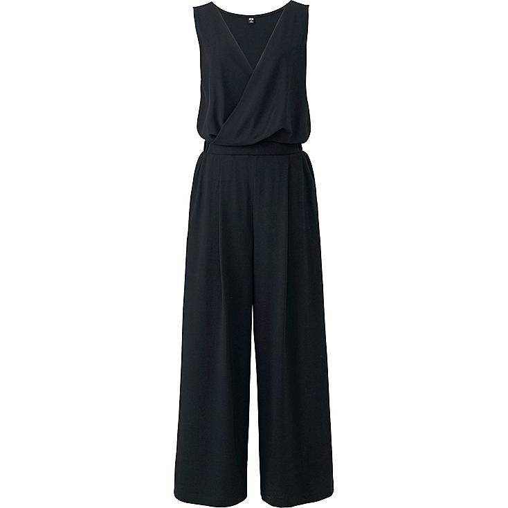 WOMEN CACHE COEUR JUMPSUIT, BLACK, large