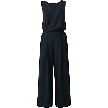 WOMEN CACHE COEUR JUMPSUIT, BLACK, medium
