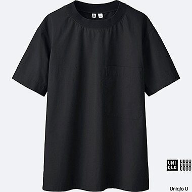 WOMEN Uniqlo U Cotton Short Sleeve T Blouse