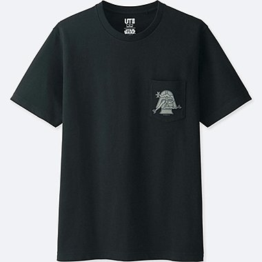 MEN STAR WARS | ARTIST COLLECTION GRAPHIC T-SHIRT (GEOFF McFETRIDGE), BLACK, medium
