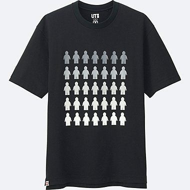 MEN LEGO® SHORT-SLEEVE GRAPHIC T-SHIRT, BLACK, medium