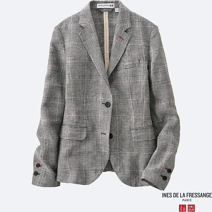WOMEN INES Linen Jacket