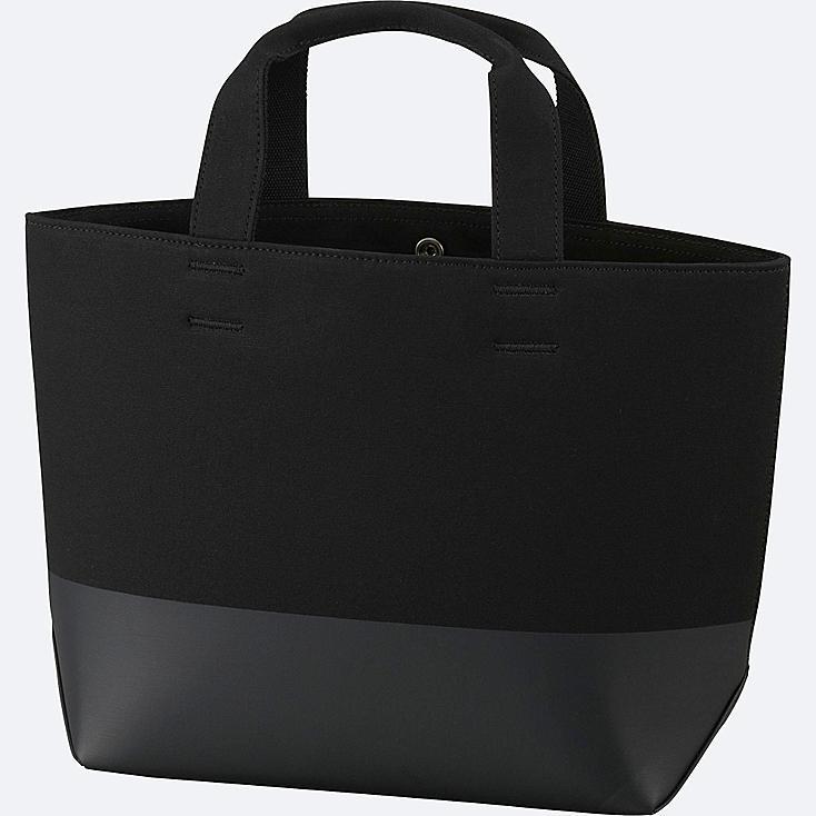 MEN CANVAS MINI BAG, BLACK, large