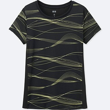 WOMEN Dry-EX Printed Short Sleeve T-Shirt