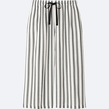 WOMEN Relaco 3/4 Wide Shorts (Stripe)