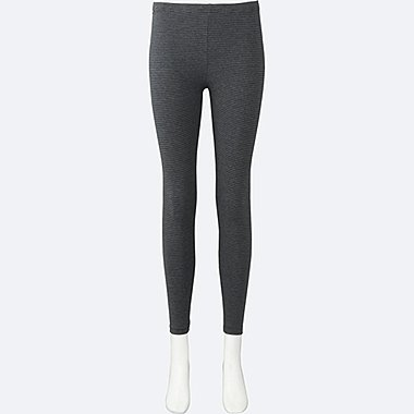 DAMEN Leggings gestreift