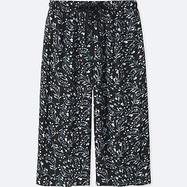 WOMEN Relaco 3/4 Wide Shorts (Small Flower)