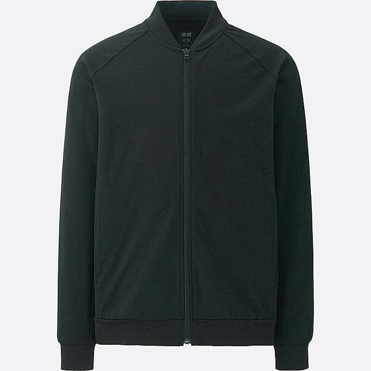 MEN Dry-Ex Ultra Stretch Full-Zip Bomber Jacket