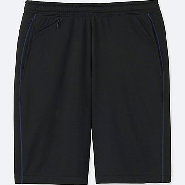 MEN DRY-EX MESH SHORTS, BLACK, medium
