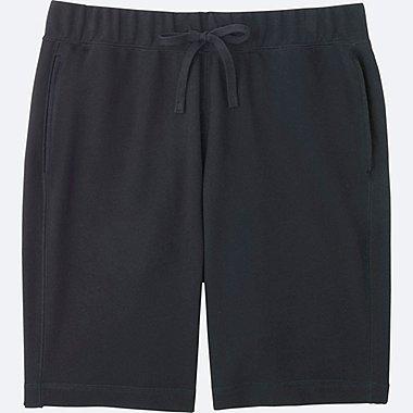 MEN COTTON EASY SHORTS, BLACK, medium
