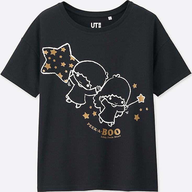WOMEN SANRIO Short Sleeve Graphic T-Shirt