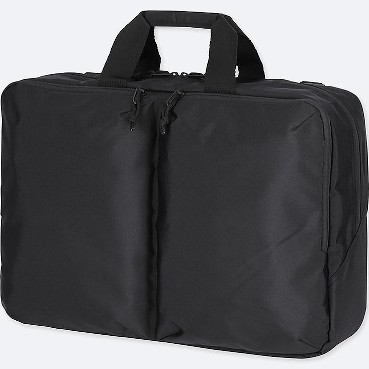 3WAY BAG, BLACK, large