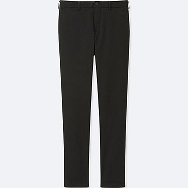 MEN SLIM FIT CHINO FLAT FRONT TROUSERS (34inch)