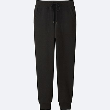 WOMEN PILE LINED SWEATPANTS