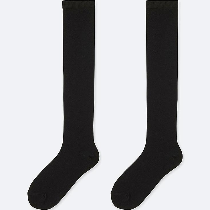 WOMEN HEATTECH KNEE HIGH SOCKS (2 PAIRS)