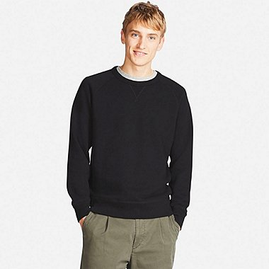 MEN CREW NECK LONG SLEEVED SWEATSHIRT
