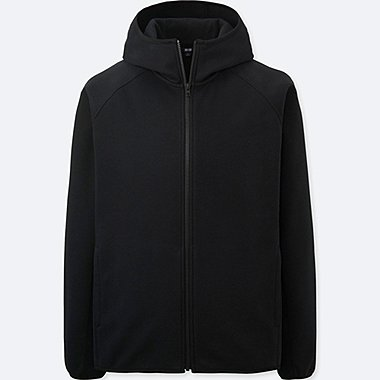MEN BLOCKTECH FLEECE LONG SLEEVE FULL-ZIP HOODIE