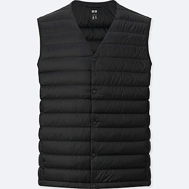 Ultra Light Down Compact Vest, BLACK, medium