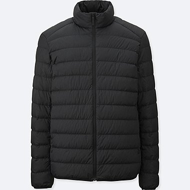 Ultra Light Down Jacket, BLACK, medium