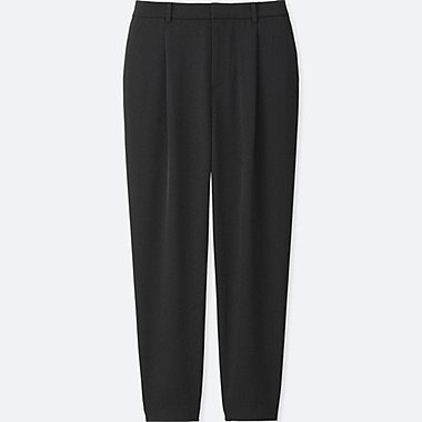 WOMEN DRAPE JOGGER TROUSERS